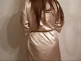Liquid latex instructions - New liquid satin long night dress