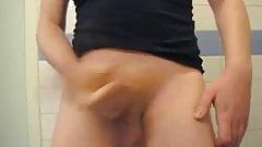 Rouquin gay en branle