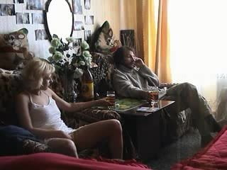 Russian home sex couples on camera