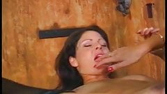 Czarina banged by another hottie using a strap-on