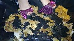 Lady L crush mushrooms with extreme gaga high heels.'s Thumb