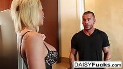 Sexy vixen Daisy Monroe fucks her neighbor