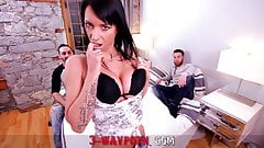 porn threesome video