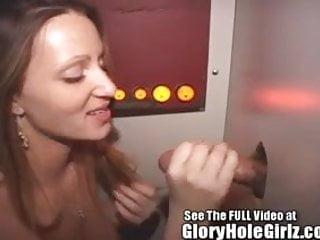 Ice Cream Shop Cum Slut Wants Man Cream At The Gloryhole!