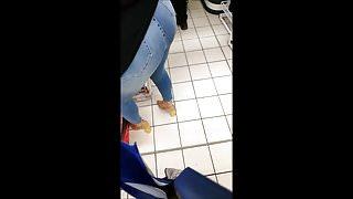 Follow Ass 44 (Milf in market - jeans ass)