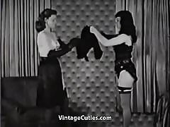 Hot Lady Loves to Dominate (1950s Vintage)