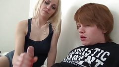 Horny teen