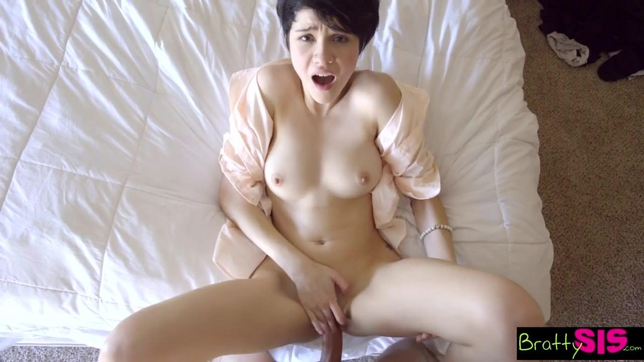 Skinny stepsister get fucked by not brother when parents - 1 part 9