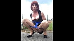 Second tribute to the beautiful Vicky a French trans
