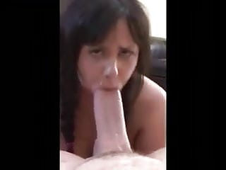 She loves stuffing her mouth with big dick