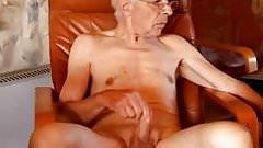 Sexy old men masturbating