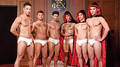 Group Gay Sex Marathon - Devin,Trevor, Nic, Zak, Colton