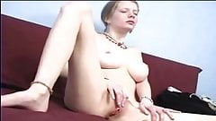 Skinny girl with big boobs mas