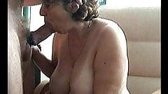 Sandie Sucking On A Fat Cock