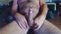 Redneck july 21 Stroking a messy Cum shot fer yall