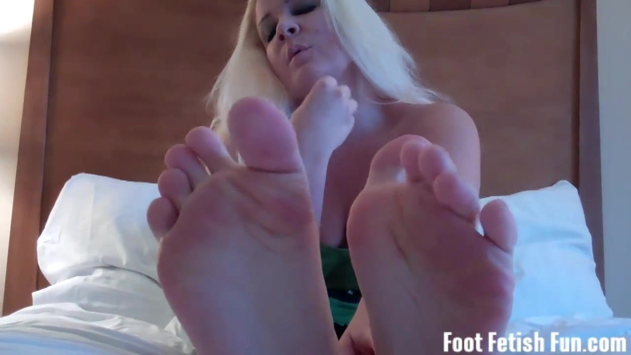 My feet will make your cock rock hard