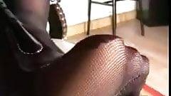 sheer nylon femdom