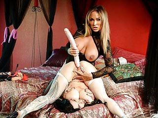 Spizoo - Jenevieve Hexxx & Audrey Black lesbian, big booty