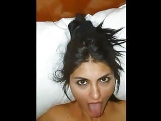 Indian GF with Hot Face Takes Facial