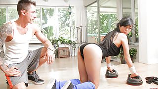 TeamSkeet - Hardcore Sex Workout For Asian Teen