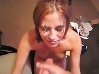 Hot Red Head TakesHuge Load In The Face