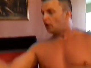 British slut Petra in a FMM threesome