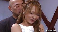 Japanese model, Sena Aragaki is often getting fucked hard, u