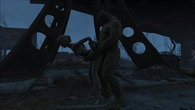 Preview 1 of Fallout 4 Katsu sex adventure chap.5 Supermutant