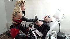 rubber maids clit  used with milking machine
