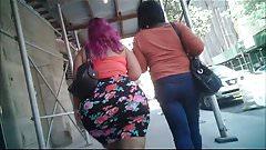 Huge Puerto Rican Candid BBW Booty in Skirt