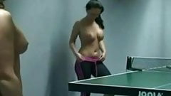 NAKED SEXY GIRLS PLAYING PING PONG