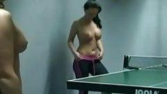 NAKED SEXY GIRLS PLAYING PING PONG