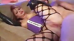 Hot Latex Anal Sex