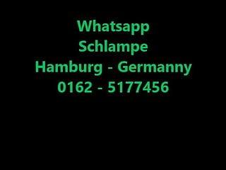 Deutsch Schlampe macht es sich selbst !