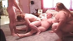 Velvet swingers club BBW mature and her friend swaps hubby