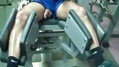 Str8 daddy workout in gym