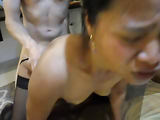 sextoy screams whyle fucked from gaulls big cock