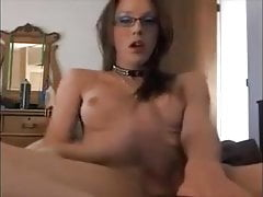 solo shemale with big cock :watch part 2: eleganttranny.com