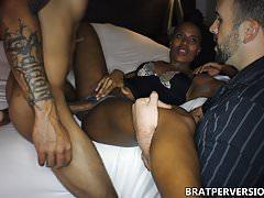 Ebony Cuckoldress Impregnated by Ex Boyfriend's BBC