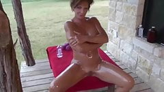 Deauxma Fit Busty MILF Oil Fun - PolishViking