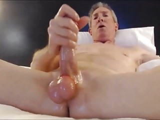 Big cock jerk off cum festival!