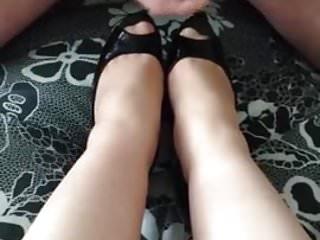 Cum on Peep toe shoes