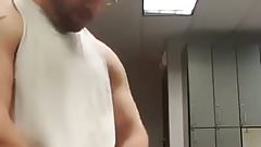 Locker Room Wank and Load