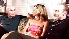 Small Tits Tan Blonde Swinger Having Fun