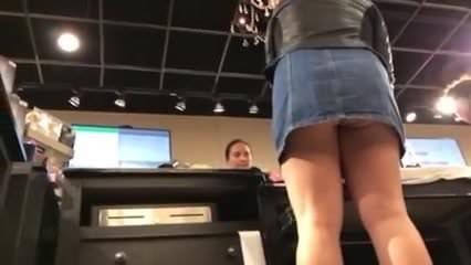 Sexy upskirt