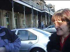 British Mature Amateur Brunette Threesome
