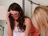 Allie Haze and Lilly Banks Amazing Lesbian Sex