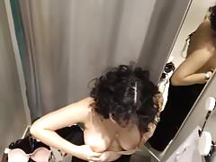 Teen arabe big tits changing room 1