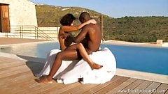 Outdoor Ebony Love Affair