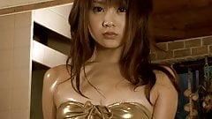 SHOKO Sweet Surprise - Oiled Up Gold Bikini (Non-Nude)